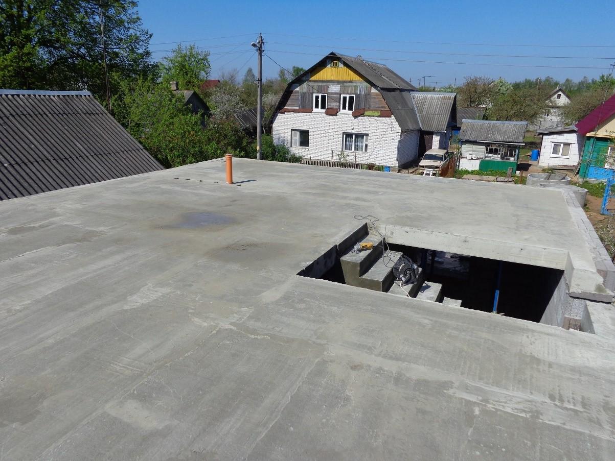 бетонные перекрытия